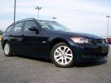 2007 Monaco Blue Metallic BMW 3 Series 328xi Wagon #29956980