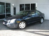 2008 Dark Blue Ink Metallic Ford Fusion S #29957013