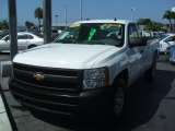 2008 Summit White Chevrolet Silverado 1500 Work Truck Regular Cab #30036282