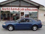 1999 Atlantic Blue Metallic Ford Mustang V6 Coupe #30036588