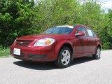 2007 Victory Red Chevrolet Cobalt LT Sedan #30036928