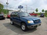 2001 Island Blue Metallic Ford Explorer Sport 4x4 #30036361