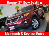 2011 Spicy Red Kia Sorento LX #30036372