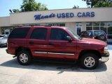 2004 Sport Red Metallic Chevrolet Tahoe  #30036663