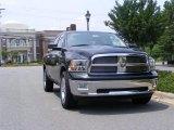 2010 Brilliant Black Crystal Pearl Dodge Ram 1500 Big Horn Crew Cab #30036979