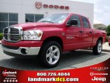 2007 Flame Red Dodge Ram 1500 Thunder Road Quad Cab #30036409