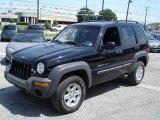 2002 Black Jeep Liberty Sport 4x4 #30036735