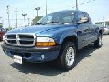 2004 Atlantic Blue Pearl Dodge Dakota Sport Club Cab #30036470