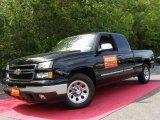 2007 Black Chevrolet Silverado 1500 Classic LS Extended Cab #30036483