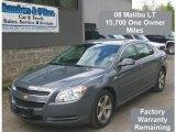 2008 Dark Gray Metallic Chevrolet Malibu LT Sedan #30037415