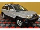2004 Pewter Hyundai Santa Fe GLS 4WD #30036804