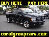 2003 Black Dodge Ram 1500 SLT Quad Cab #30037104