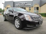 2009 Black Cherry Cadillac CTS Sedan #30036822