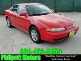 2000 Bright Red Oldsmobile Alero GL Sedan #30037441