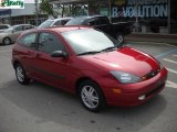 2004 Sangria Red Metallic Ford Focus ZX3 Coupe #30036531
