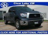 2008 Slate Gray Metallic Toyota Tundra SR5 Double Cab 4x4 #30037151