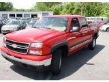 2006 Victory Red Chevrolet Silverado 1500 Z71 Crew Cab 4x4 #30037154