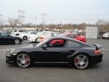 2008 Black Porsche 911 Turbo Coupe #3002951
