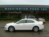 2010 White Platinum Tri-coat Metallic Ford Fusion SEL #30037521