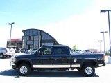 2006 Onyx Black GMC Sierra 2500HD SLT Crew Cab 4x4 #30037662