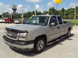 2004 Silver Birch Metallic Chevrolet Silverado 1500 LS Extended Cab #30158468