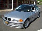 2001 Titanium Silver Metallic BMW 3 Series 325i Sedan #30037790