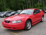 2002 Torch Red Ford Mustang V6 Coupe #30037804