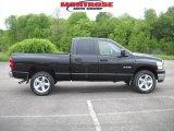 2008 Brilliant Black Crystal Pearl Dodge Ram 1500 Big Horn Edition Quad Cab 4x4 #30037674