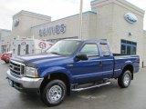2003 Sonic Blue Metallic Ford F250 Super Duty XLT SuperCab 4x4 #30158151