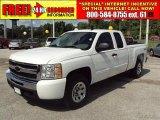 2009 Summit White Chevrolet Silverado 1500 LT Extended Cab 4x4 #30158478