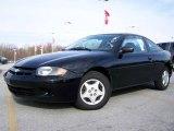 2003 Black Chevrolet Cavalier Coupe #2974244