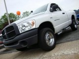 2007 Bright White Dodge Ram 1500 ST Regular Cab 4x4 #30037811