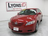 2008 Barcelona Red Metallic Toyota Camry LE #30157919