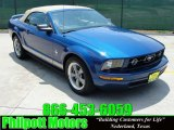 2006 Vista Blue Metallic Ford Mustang V6 Premium Convertible #30158192