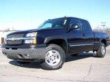 2005 Dark Blue Metallic Chevrolet Silverado 1500 LS Extended Cab 4x4 #2974453