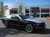 2007 Black Ford Mustang V6 Deluxe Coupe #30157942