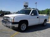 2005 Summit White Chevrolet Silverado 1500 LS Regular Cab #30158213