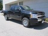 2009 Black Chevrolet Silverado 1500 LT Extended Cab 4x4 #30158285