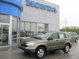 2008 Green Tea Metallic Honda CR-V LX 4WD #30213881