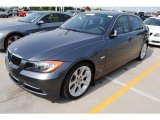 2007 Sparkling Graphite Metallic BMW 3 Series 335i Sedan #30214210