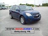 2010 Navy Blue Metallic Chevrolet Equinox LT AWD #30214220