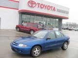 2003 Arrival Blue Metallic Chevrolet Cavalier LS Sedan #30213884