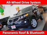 2011 Ebony Black Kia Sorento EX V6 AWD #30213903
