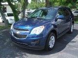 2010 Navy Blue Metallic Chevrolet Equinox LT #30213778