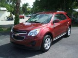 2010 Cardinal Red Metallic Chevrolet Equinox LT #30213779