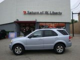 2005 Ice Blue Metallic Kia Sorento LX 4WD #30213786