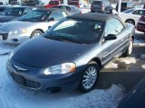 2002 Steel Blue Pearl Chrysler Sebring LX Convertible #2974100