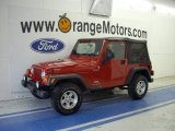 2006 Flame Red Jeep Wrangler Sport 4x4 #30213978