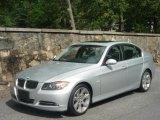 2007 Titanium Silver Metallic BMW 3 Series 335i Sedan #30213808