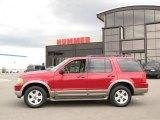 2003 Redfire Metallic Ford Explorer Eddie Bauer #30214307